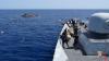 O navă cu trupe de elită s-a răsturnat în largul mării. Armata a început căutările