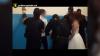 Scandal la o nuntă din Capitală. Mirele, luat pe sus de mascaţii de la Fulger (VIDEO)