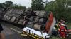 Accident grav în Turcia. 26 de oameni au fost răniți după ce autocarul în care se aflau s-a răsturnat