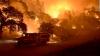 Incendii de vegetație în California. 3100 de hectare de vegetaţie au fost cuprinse de flăcări