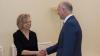 Pavel Filip a mulțumit ambasadoarei Germaniei la Chișinău pentru suportul acordat în implementarea reformelor