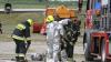 Incendiu pe Aeroportul Chișinău. Cum au simulat pompierii focul la un avion (VIDEO)