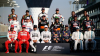 Fotbal cu piloții din Formula 1. Ricciardo şi Verstappen au tras la poartă cu mingea de fotbal