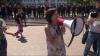 Protestul opoziţiei a EŞUAT. Maia Sandu şi Andrei Năstase au făcut apel la oameni să vină mai mulţi la proteste