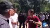 Vasile Nastase, huiduit de protestatari! I-au adresat cuvinte grele (VIDEO)
