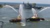 PARADE SPECTACULOASE pe apă și în aer. Rusia marchează astăzi Ziua Marinei