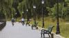 Parcurile din oraș devin tot mai aglomerate. Timpul răcoros i-a scos din case pe locuitorii Capitalei