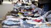 Scandal la piața de vechituri de la Gară. Oamenii care vând în stradă s-au certat cu poliția