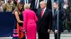 Moment jenant. Trump este lăsat cu mâna întinsă de soţia preşedintelui polonez (VIDEO)