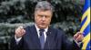 Poroşenko anunţă că nu va prelungi legea marţială, impusă după incidentul din zona Kerci