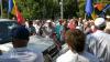 Membrii şi susţinătorii Partidului DA AU BLOCAT CIRCULAŢIA în centrul capitalei (VIDEO)