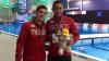 Vedetele mexicane, Pacheco şi Ocampo,  participă la probele de sărituri în apă sincron