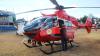 Femeia rănită în timpul exploziei din Hrubna Nouă, adusă la Chişinău cu un elicopter SMURD Iaşi (VIDEO)