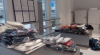 Articole vestimentare nedeclarate, depistate în valizele unui conațional sosit din Istanbul (FOTO)
