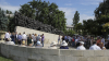Victimele celui mai mare val de deportări au fost comemorate în scuarul Gării