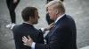 """Trump: """"Președintelui francez îi place să mă țină de mână"""""""