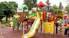 """Cadou micilor pacienți: Fundaţia """"Edelweiss"""" a renovat terenul de joacă al Spitalului raional Nisporeni"""