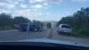 Accident grav pe șoseaua Balcani. Două mașini s-au tamponat violent