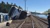 Un tren a deraiat în statul Washington din SUA. Mai mulţi pasageri au fost răniţi