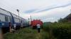 Locomotiva unui tren care circula pe ruta Craiova- Bucureşti a luat foc. Niciun pasager nu a fost rănit