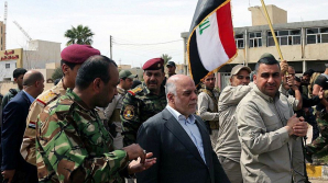 Un oraș din Irak, eliberat de terorişti! Steagul ţării a fost arborat pretutindeni în Mosul