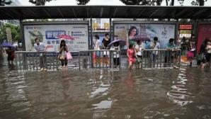 Inundații de proporții în nord-estul Chinei. Peste 110.000 de persoane au fost nevoite să-și părăsească locuințele