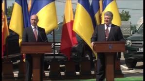 """Un nou punct comun de trecere a frontierei moldo-ucrainene. Filip: """"Este pentru cetăţenii şi agenţii economici din stânga Nistrului"""""""