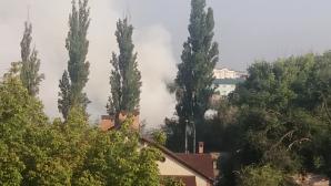 COD GALBEN DE POLUARE! Nivelul de dioxid de azot în aerul din Capitală peste limitele normale din cauza incendiului