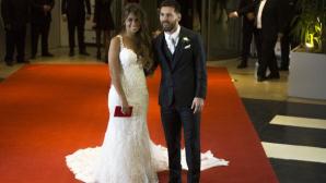 NUNTA ANULUI în fotbalul mondial! Lionel Messi și Antonella Rocuzzo ŞI-AU SPUS DA. Ceremonia a fost una FASTUOASĂ