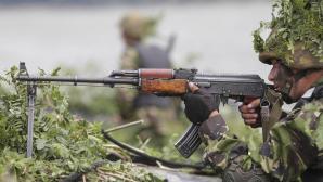 Dunărea, luată cu asalt. Militarii români i-au impresionat pe generalii americani (VIDEO)