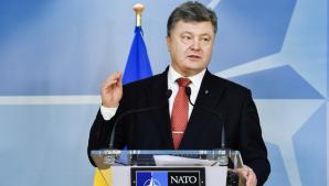 Petro Poroşenko a promulgat legea care prevede ca şcolile în care copiii studiază în altă limbă decât cea ucraineană să fie lichidate