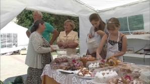 În oraşul Sângerei a fost organizat un târg unde antreprenorii și-au prezentat produsele