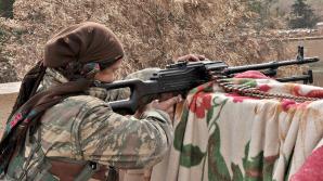 Sute de adolescente kurde, voluntare pe frontul irakian în lupta împotriva jihadiștilor ISIS. VIDEO în 360 de grade