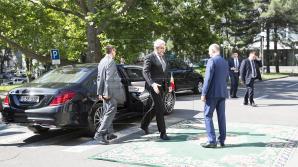 Întâlnirea premierului Filip cu omologul său Mihai Tudose: Moldova şi România au relaţii de suflet (FOTO)