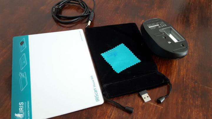 IRIScan Mouse Wifi: Mouseul care scanează, citeşte şi importă documente (FOTO)