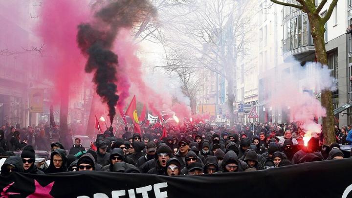 Germania cere ajutor de la UE pentru a identifica protestatarii violenți