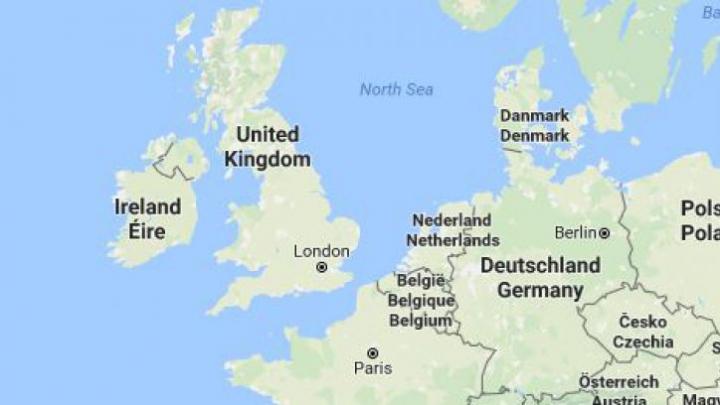 Cel mai amuzant accident din toate timpurile. Căpitanul unei nave a uitat de existența Angliei pe hartă