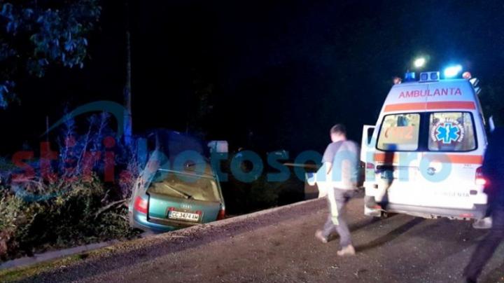 Accident GRAV la Botoșani. Un copil de 3 ani și patru adulți, băgați în spital de o călugăriță neatentă (FOTO)