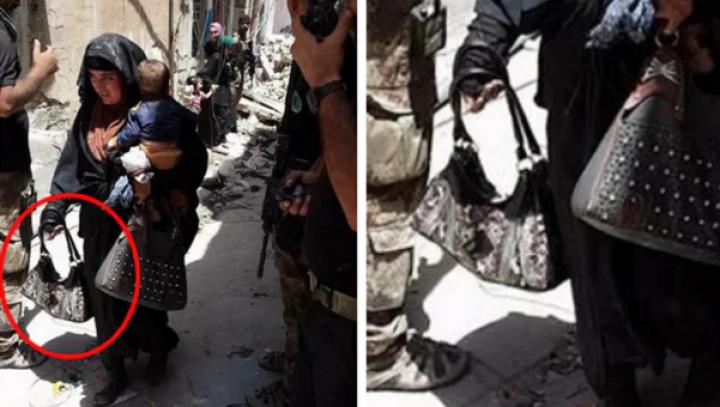 Imagini CUTREMURĂTOARE. Ținea un bebeluş în brațe, cu doar câteva clipe înainte de a DETONA o BOMBĂ