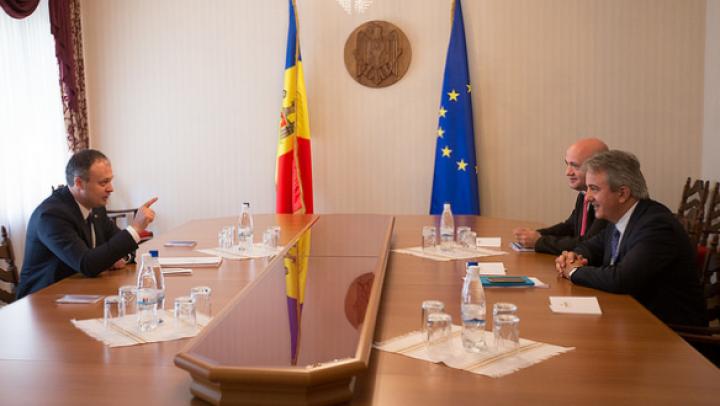Andrian Candu: Relansarea proiectelor de infrastructură, o prioritate pentru Moldova