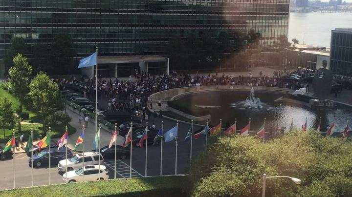 O clădire ONU din New York a fost EVACUATĂ. Care a fost motivul