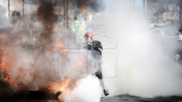 INCENDIU la Cahul. Pompierii au intervenit de urgenţă (VIDEO)