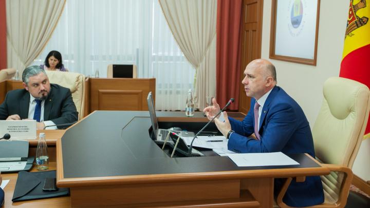 Pavel Filip: Reforma Guvernului nu trebuie să afecteze implementarea Agendei de Asociere RM-UE