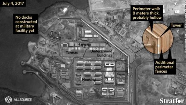 Imagini din satelit cu prima bază militară permanentă de peste hotare a Chinei: Poate exista o activitate neobservată