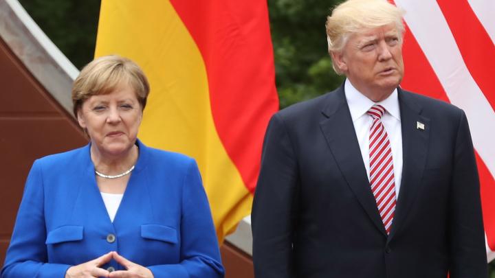 Merkel s-a întâlnit cu Trump înaintea summitului G20