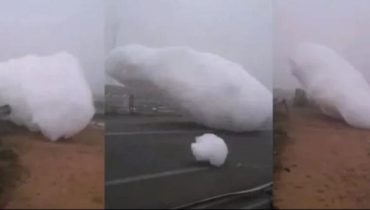 Fenomen UNIC în istoria umanității. S-au rupt norii și au căzut pe pământ. Oamenii ÎNGROZIȚI