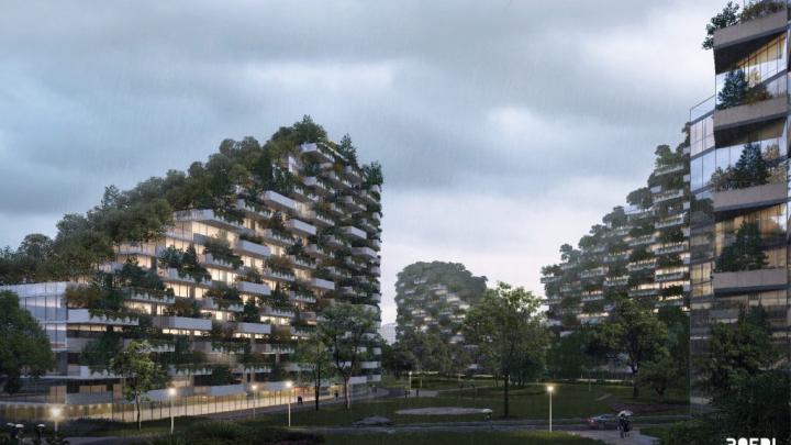 China plănuiește să-l construiască. Orașul-pădure care consumă poluare (FOTO)