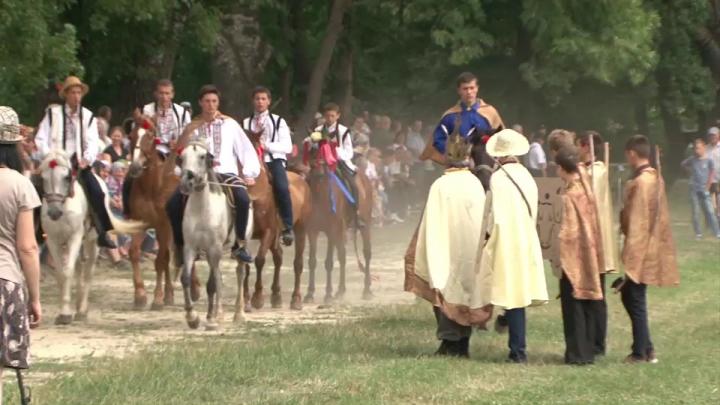 Distracţie şi voie bună! Primul Festival al cailor şi căruţelor a fost organizat la Călăraşi