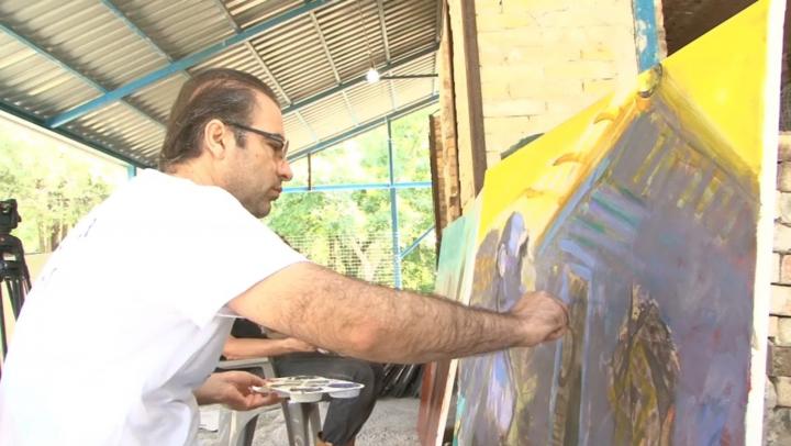 Pictori şi maeştri ai ceramicii din 16 ţări şi-au dat întâlnire la Tabăra de artă Cucuteni