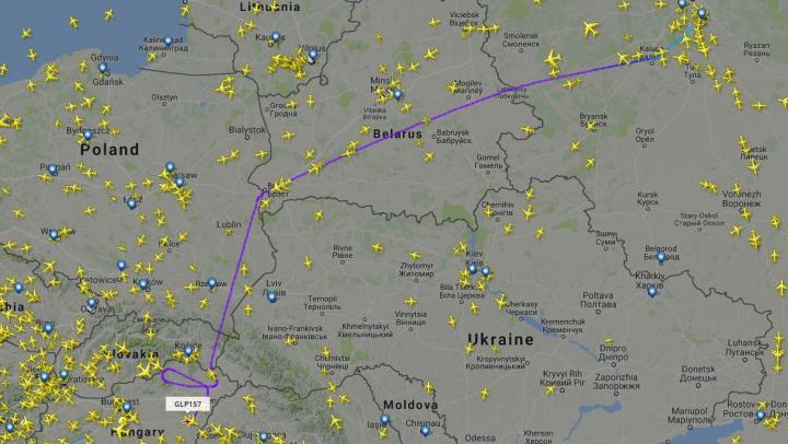 Zbor frânt pentru Rogozin. Avionul în care se afla a fost împiedicat să intre în România